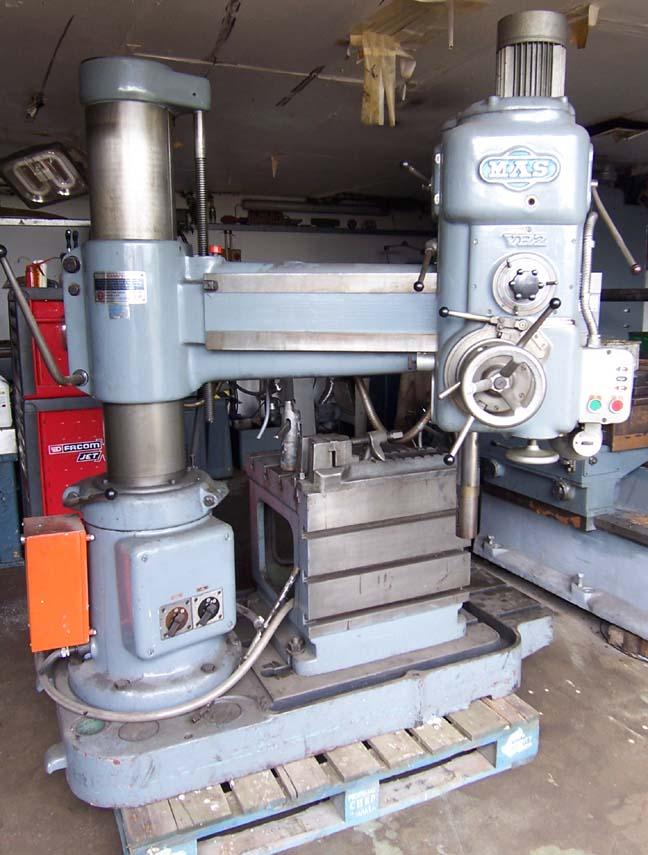 mas vr2 radial drill rh budgetmachinery co uk
