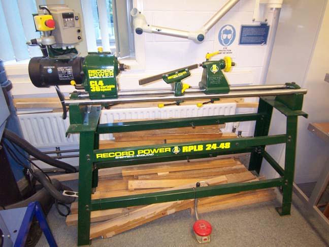 record lathe machine