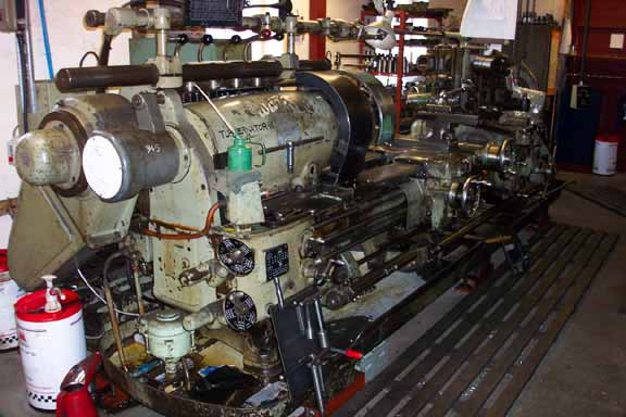 Ward 8 Turret Lathe With Long Bed